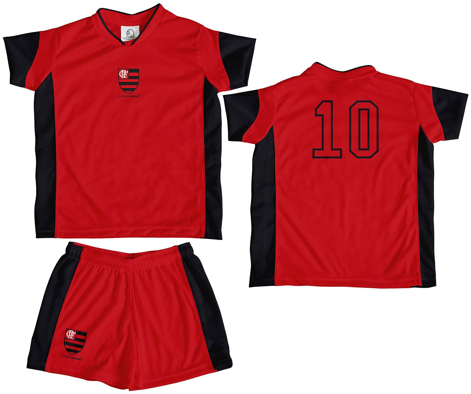 Kit Camiseta e Shorts Infantil FLAMENGO b9abe780516