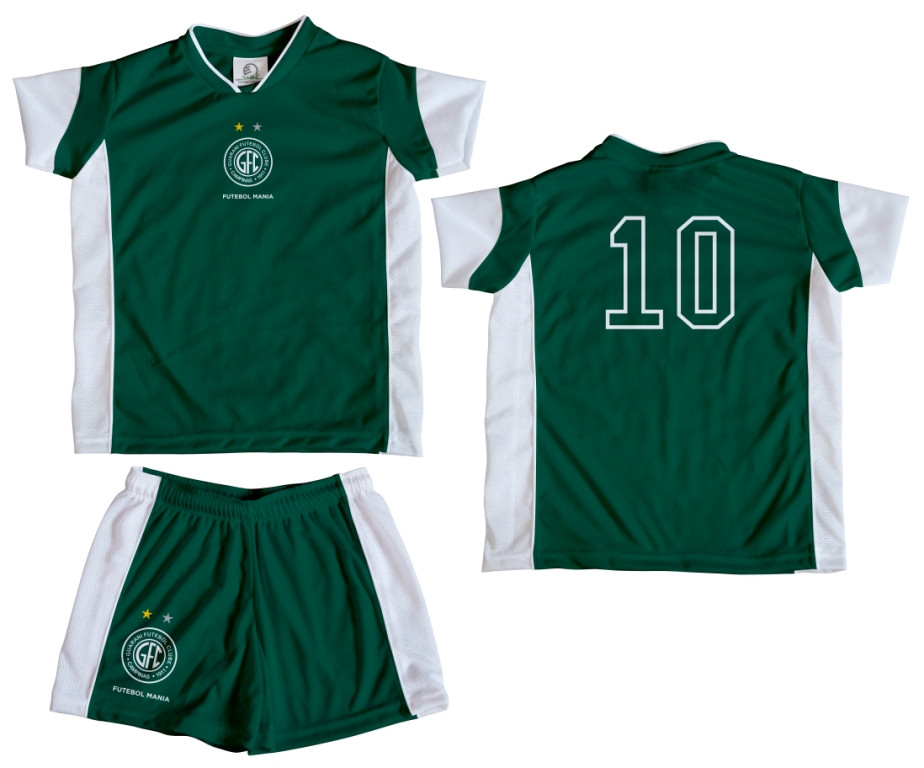 e2ff0de7d1 Kit Camiseta e Shorts Infantil GUARANI
