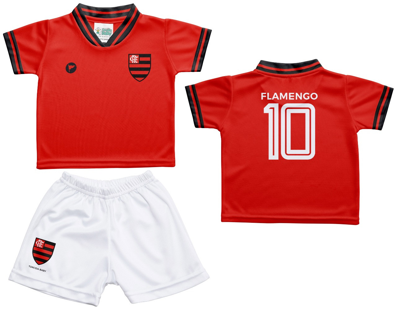 Camiseta e Shorts Flamengo