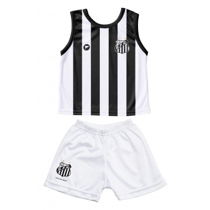 Camiseta Regata e Shorts Santos