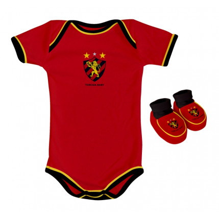 Kit Body Colorido SPORT CLUB DO RECIFE