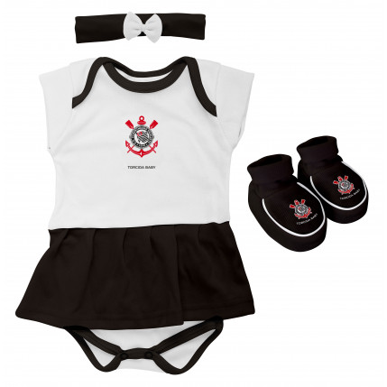 Kit Body Vestido CORINTHIANS