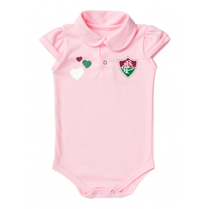 Body Polo Rosa Fluminense