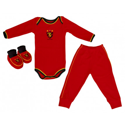 Kit Body Longo Colorido SPORT CLUB DO RECIFE
