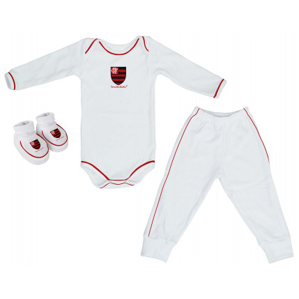 Kit Body Longo FLAMENGO