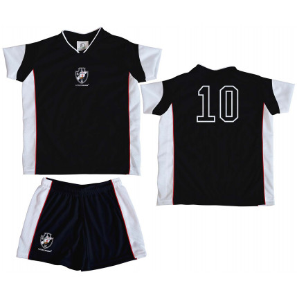 Kit Camiseta e Shorts Infantil VASCO