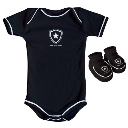 Kit Body Preto BOTAFOGO