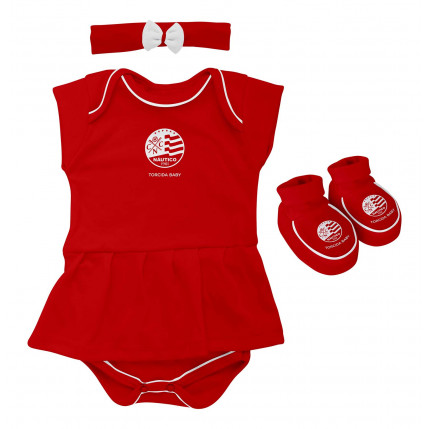 Kit Body Vestido NAUTICO