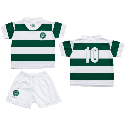 Kit Camiseta e Shorts Bebê/Infantil GUARANI