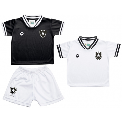 Kit 2 Camisetas e Shorts Botafogo