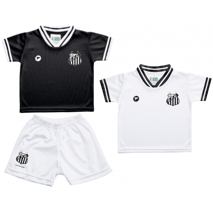Kit 2 Camisetas e Shorts Santos