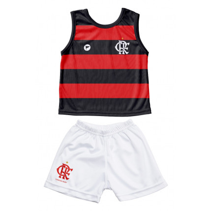 Camiseta Regata e Shorts Flamengo