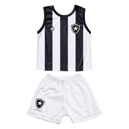 Camiseta Regata e Shorts Botafogo