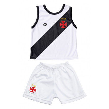 Camiseta Regata e Shorts Vasco