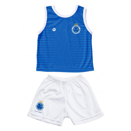 Camiseta Regata e Shorts Cruzeiro