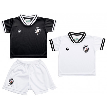 Kit 2 Camisetas e Shorts Vasco