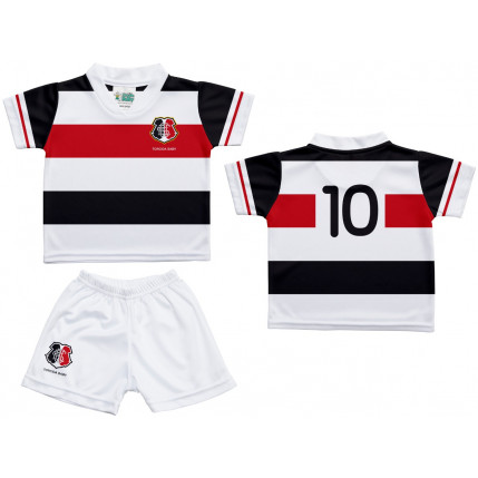 Kit Camiseta e Shorts Bebe/Infantil SANTA CRUZ