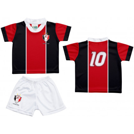 Kit Camiseta e Shorts Bebe/Infantil Joinvile